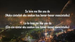 Download lagu LOVE ME LIKE YOU DO Ellie Goulding