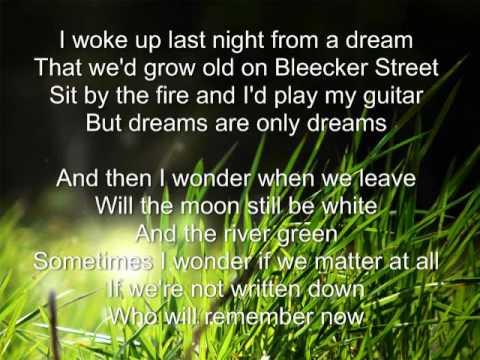 Growing Old On Bleecker Street - AJR -   Lyrics  