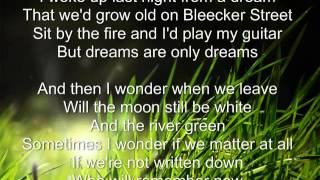 Growing Old On Bleecker Street - AJR - | Lyrics |