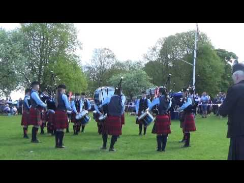 Battlehill Pipe Band @ Ards & North Down Pipe Band Championships 2016