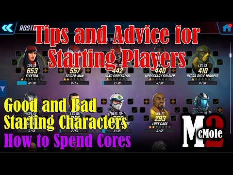 Advice and Tips for New Players in Marvel Strike Force