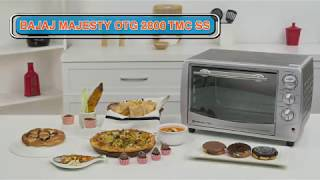 Bajaj Majesty 2800 TMCSS (28 Litre) Oven Toaster Griller (OTG)