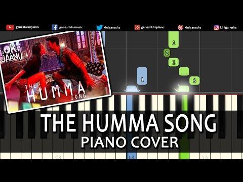 The Humma Song OK Jaanu A R Rahman Piano Chords Tutorial Lesson Instrumental Karaoke By Ganesh Kini