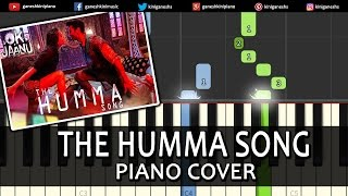 The Humma Song OK Jaanu|A R Rahman|Piano Chords Tutorial Lesson Instrumental Karaoke By Ganesh Kini