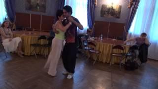 Juan Pablo Canavire и Юлия Саминская - Tango portenio...