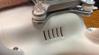 Phantom 3 Gimble Shake Fix