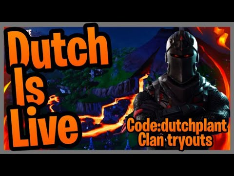 FORTNITE [ LIVE ] CUSTOM MATCHMAKING + CLAN TRYOUTS DUO // SQUADS - PS4 XBOX PC MOBILE