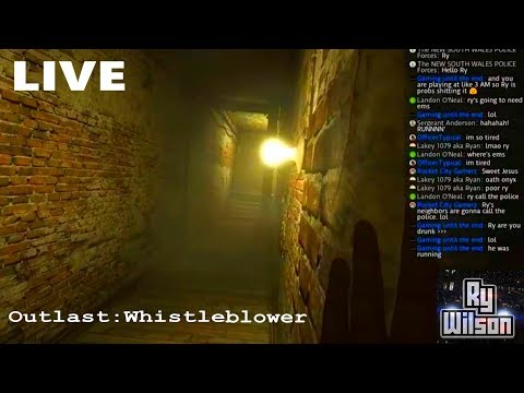 LIVE: Outlast Prequel:Whistleblower (Super Scary Subscriber Shout out Stream)