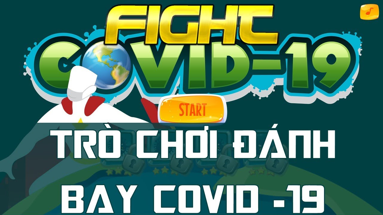 Trò chơi Đánh bay Covid-19 trên PowerPoint | Trường học PowerPoint