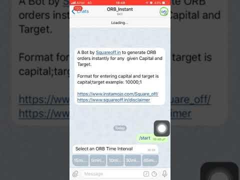 telegram trading bot