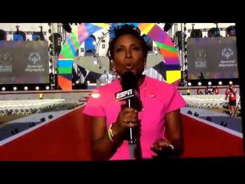 ESPN 2015 Special Olympics World Games opening ceremony first 12 minutes