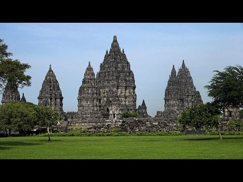 Prambanan, Java, Indonesia in 4K (Ultra HD)