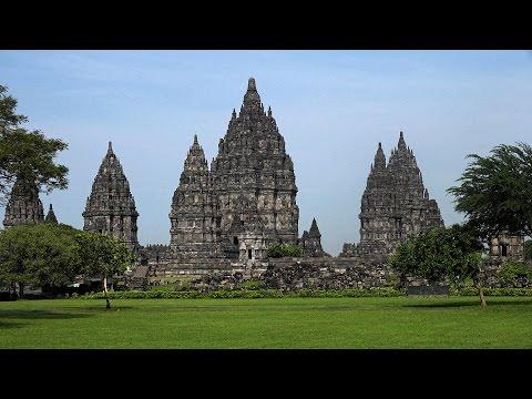 Prambanan, Java, Indonesia In 4K (Ultra HD)