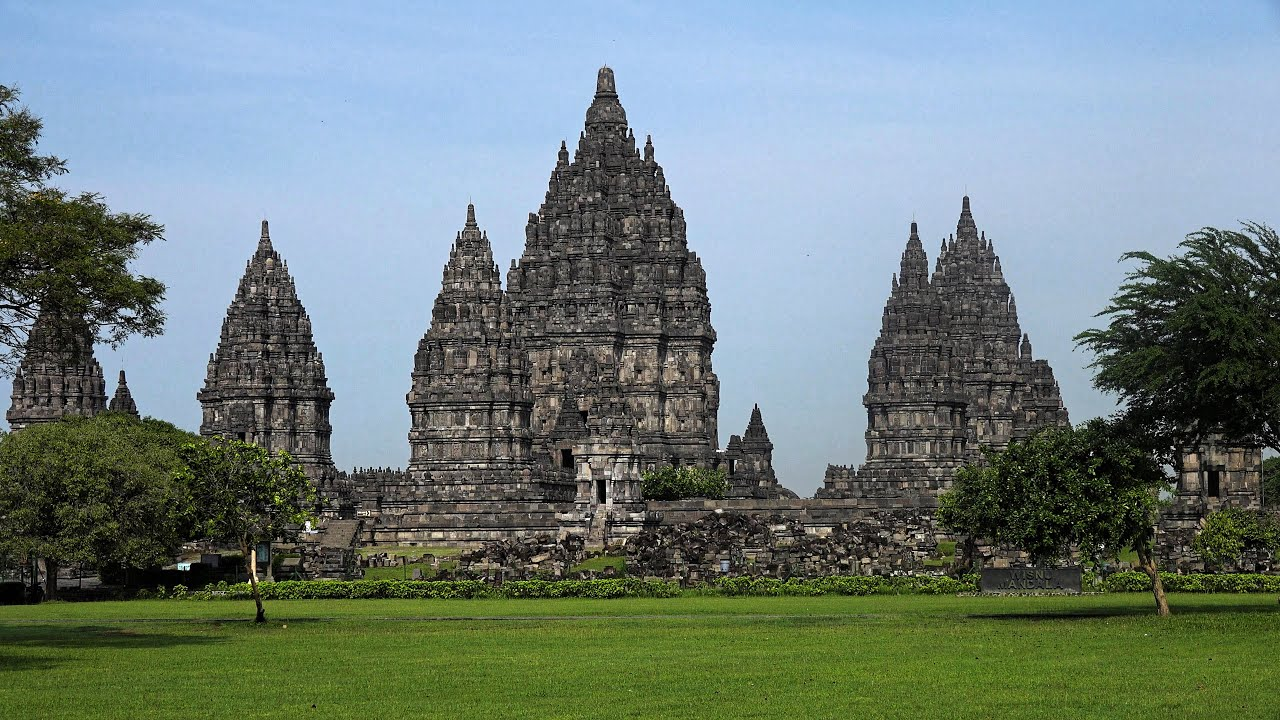 Prambanan Java Indonesia In 4k Ultra Hd Youtube