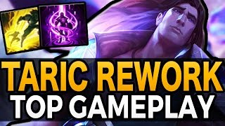 TARIC REWORK TOP GAMEPLAY - League of Legends