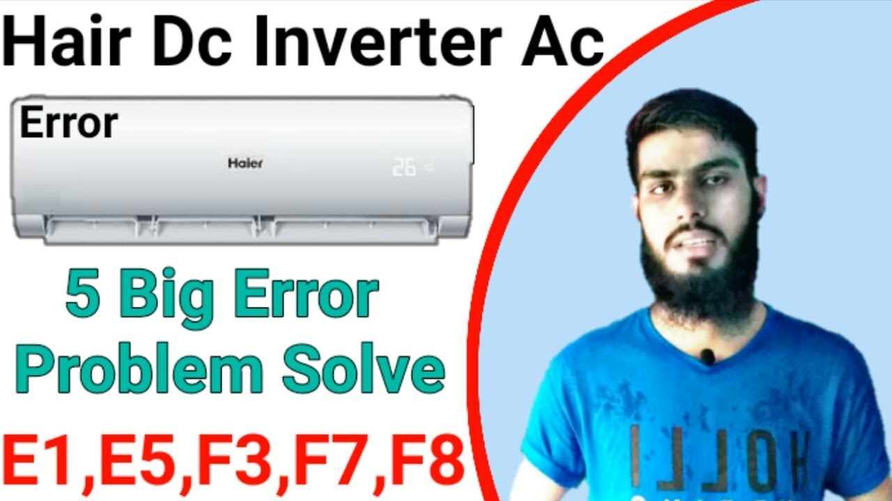 SOLVED: Voltas Ac Error Code F8, What's The Problem & How