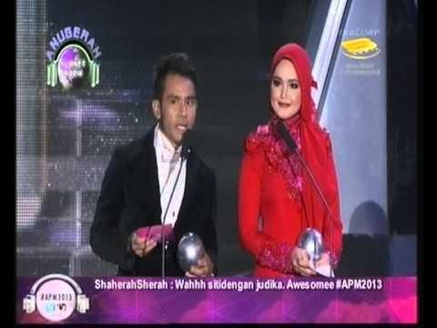 Anugerah Planet Muzik 2013- Siti Nurhaliza & Judika
