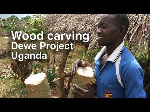 Dewe, Uganda - Wood Carving