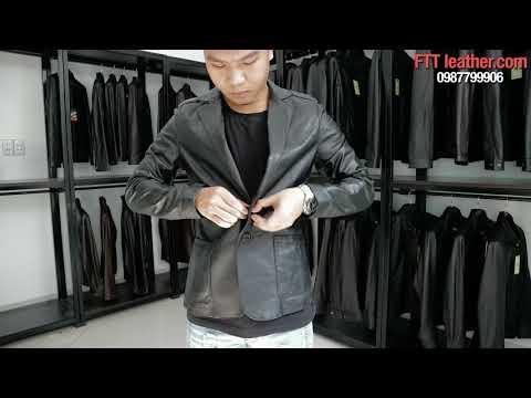 Áo Da Nam Hà Nội - áo Vest Da Cao Cấp FTT Leather
