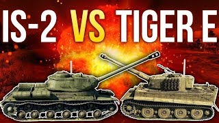 IS-2 vs Tiger / War Thunder