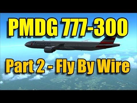 FSX PMDG 777-300ER FLY BY WIRE