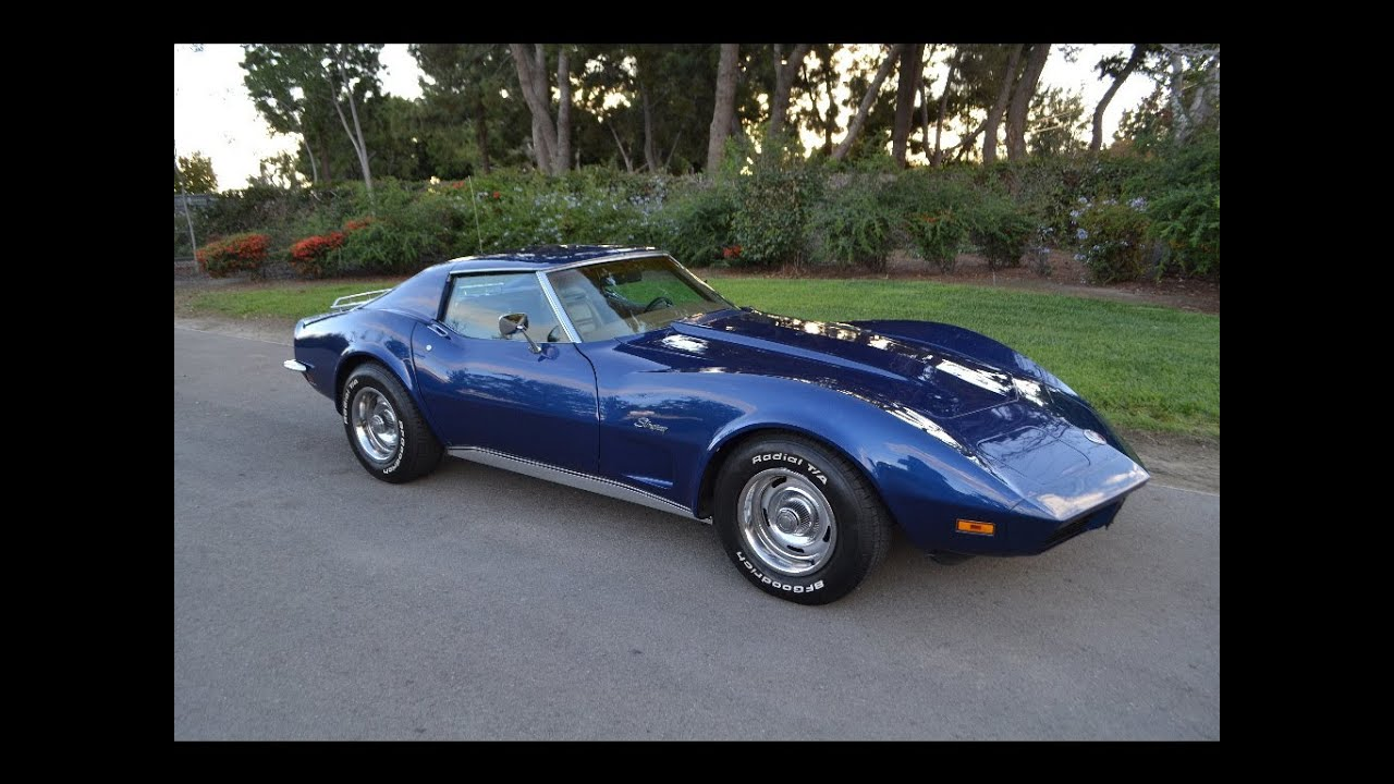 Picture of 1973 chevrolet corvette coupe exterior - Sold 1973 Chevrolet Corvette Coupe Dark Blue For Sale By Corvette Mike Anaheim California 92807