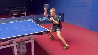 Forehand Loop & Cover The Table With Patryk Zyworonek