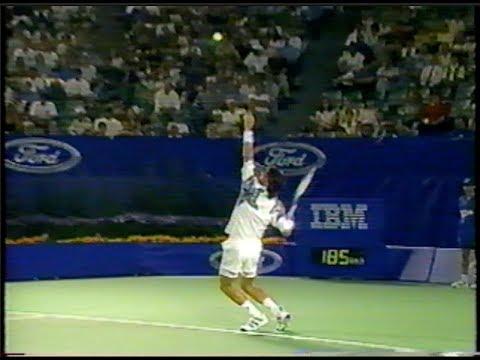Krickstein vs Agassi Australian Open 1995 - YouTube