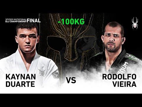 2019 SPYDER INVITATIONAL BJJ CHAMPIONSHIP FINAL -100kg Semi Final : K.Duarte Vs R.Vieira(Full)