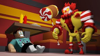 Escape Ronald Mcdonald..  Roblox