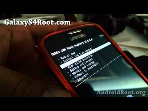 How to Install Custom ROM on Galaxy S4!