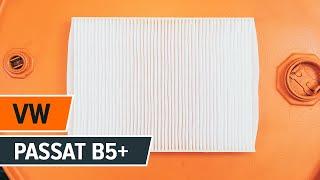 Kā nomainīt VW PASSAT B5+ Salona filtrs [PAMĀCĪBA]