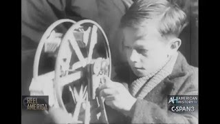 Universal News in Brief March 27, 1951 Toys for French Orphans