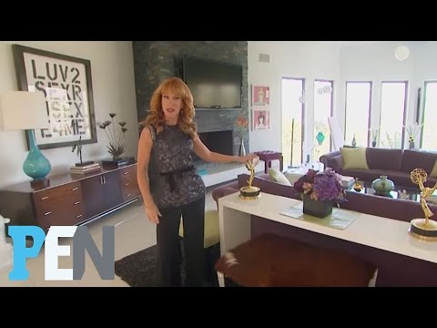 Kathy Griffin Gives a Tour of Her Mid-Century Modern-Inspired Home | PEN | People