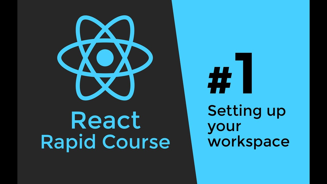 react js tutorial 1 reactjs javascript introduction workspace