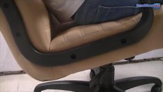 Офисное кресло руководителся бежевое Nowy Styl Atlant SP(Цвета,фото, цена или купить недорого кресло руководителя Nowy Styl Atlant SP в Кишиневе, Молдове - http://smadshop.md/mebel-kupit-cen..., 2016-07-27T09:17:24.000Z)