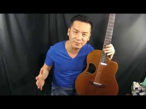 Mcpherson 3.5 Redwood/Indian Rosewood Guitar Review in Singapore