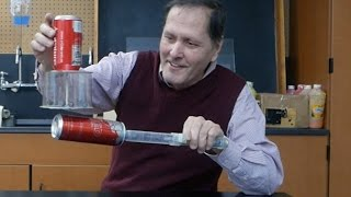 Supercharging the Fun Fly Stick - Van Der Graaf Generator // Homemade Science with Bruce Yeany