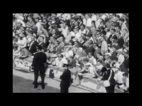 Alf Ramsey - imagini din meciul Anglia - Argentia 1-0 din 1966