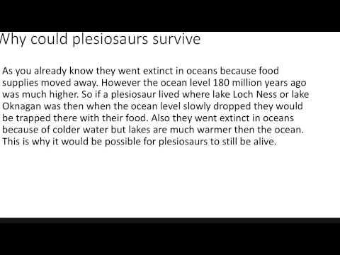 Frontiers of Zoology: Scott Mardis on Surviving ...  Are Plesiosaurs Still Alive