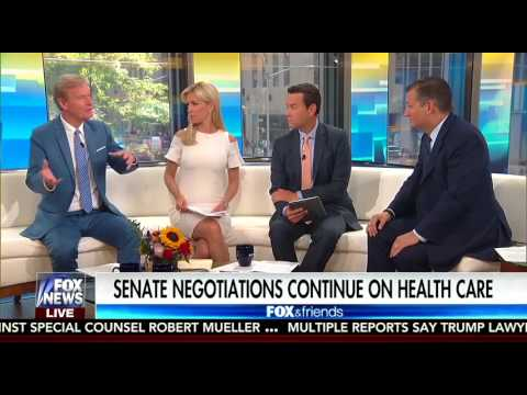 Ted Cruz on Fox and Friends | July 21, 2017 | #TXSen