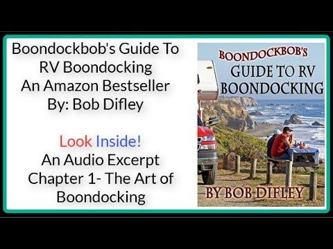RV Books-Boondockbob's Guide To RV Booncocking-RV Talk