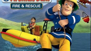 Fireman Sam Fire and Rescue Part 3 - iPad app demo for kids - Ellie