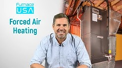 FurnaceUSA Forced Air Heating System | Gas & Electric Furnace