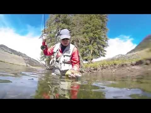 Yellowstone Slough Creek Fly Fishing  2014