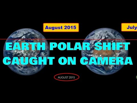 POLAR SHIFT of the EARTH Caught On Film! Strange & Spooky. Believe it,...or NOT!