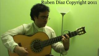 Metronomical Approaches Falseta de Paco de Lucia CFGstudio Ruben Diaz & flamencoguitarlessons.eu