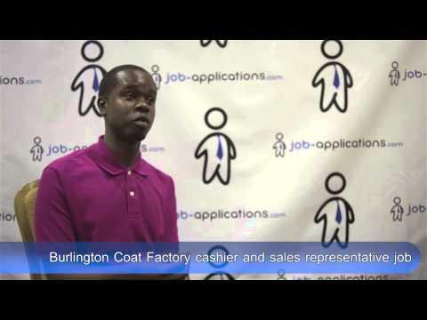 Burlington Coat Factory Interview - Cashier And Sales Representative