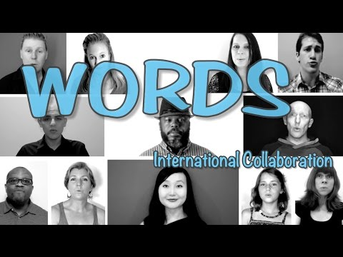 Words [The Real Group] International Collaboration Multitrack