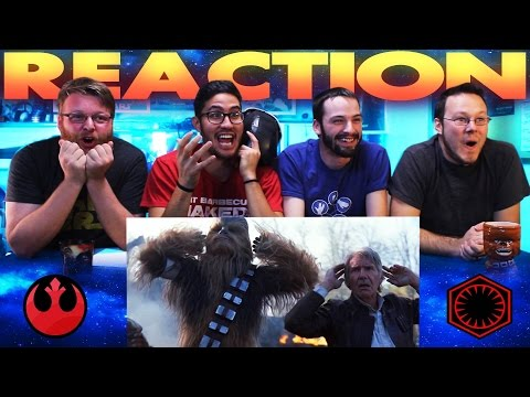 Star Wars: The Force Awakens Trailer #3 REACTION!!